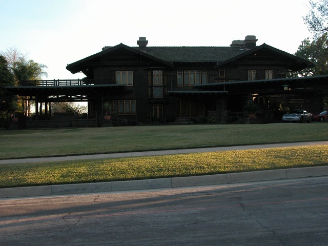 Front of the Blacker House