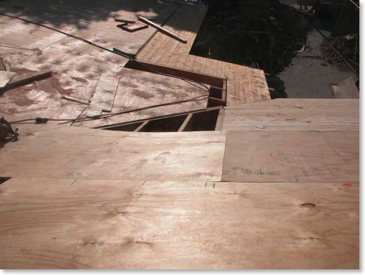 Plywood Sheeted Roof