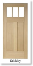 T.M. Cobb Craftsman Stickley Door