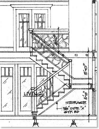 Craftsman Staircase Railing