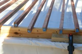 Numbered Mahogany Curtain Rods