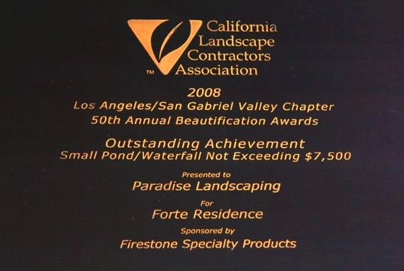 Landscape Award for Forte Craftsman House
