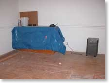 Web Server Under Tarp
